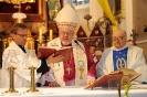 Ks. probosz Andzrej Oleszczuk, ks. biskup Antoni Dydycz i ks. prałat Władysław Kopyść