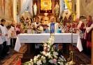 Eucharystię celebrował czcigodny Jubilat Ks. prałat Władysław Kopyść